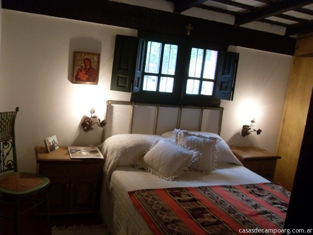 Dormitorio principal de la casa